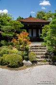 Travel photography:Rock garden at Kyoto´s Ninnaji temple, Japan