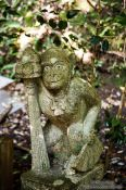 Travel photography:Monkey sculpture at Kyoto´s Otoyo shrine, Japan