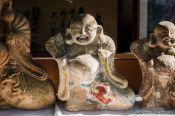 Travel photography:Sculptures at Kyoto´s Otoyo shrine, Japan