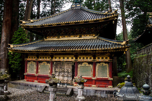 The Kyozo, a storehouse for sutras in the Nikko temple complex