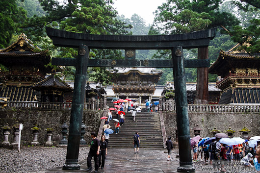 Entrance to the Nikko Temple Complex