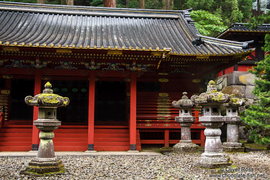Building at the Nikko Unesco World Heritage site