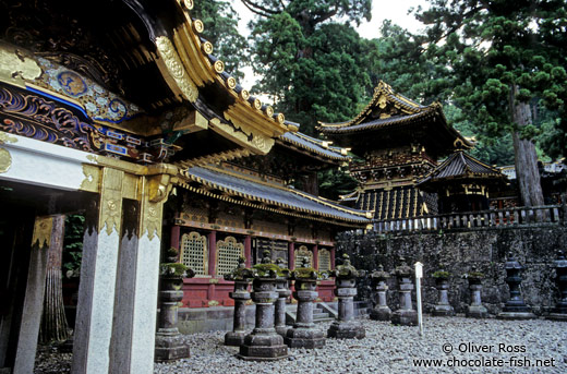 The Nikko temple complex