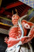 Travel photography:Guardian at the Nikko Unesco World Heritage site, Japan