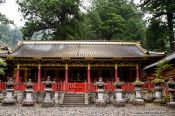 Travel photography:Store house at the Nikko Unesco World Heritage site, Japan