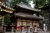 Travel photography:The Kyozo, a storehouse for sutras at the Nikko Unesco World Heritage site, Japan