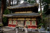 Travel photography:The Kyozo, a storehouse for sutras in the Nikko temple complex, Japan