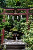 Travel photography:Sacred water shrine at the Nikko Unesco World Heritage site, Japan