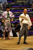 Travel photography:Interlude at the Nagoya Sumo Tournament, Japan