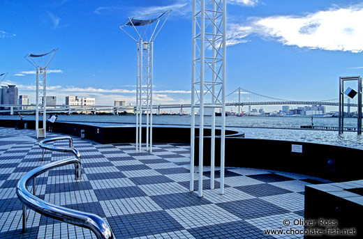 Tokyo harbour ferry terminal