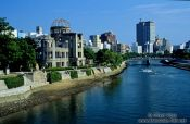 Travel photography:The Atomic Bomb Dome in Hiroshima, Japan