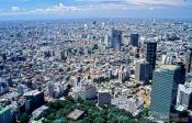 Travel photography:View of Tokyo from the Metropolitan Government Building in Shinjuku, Japan