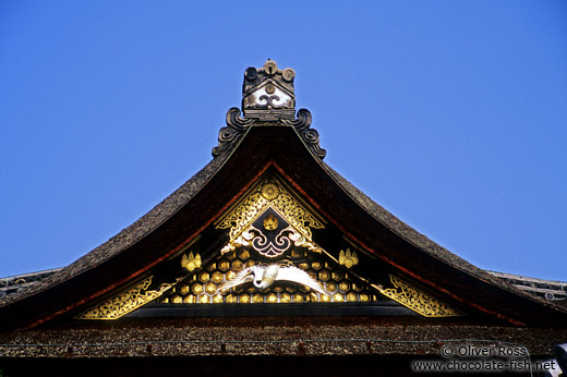 Kyoto temple roof