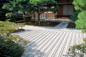 Travel photography:Rock garden in Kyoto, Japan
