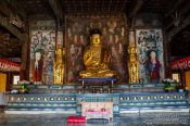 Travel photography:Bulguksa Temple Amitabha Buddha, South Korea