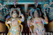 Travel photography:Bulguksa Temple guardians, South Korea