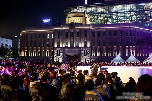 Audience of the Seoul fashion week