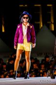 Travel photography:Model at the Seoul fashion week, South Korea