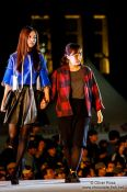 Travel photography:Models at the Seoul fashion week, South Korea