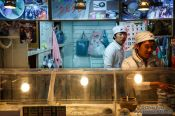 Travel photography:Food stall at the Seoul night market, South Korea