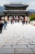 Travel photography:Seoul Gyeongbokgung palace, South Korea
