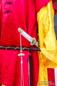 Travel photography:Robe of Gyeongbokgung palace guards, South Korea