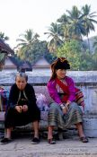 Travel photography:Women at Luang Prabang market, Laos