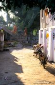 Travel photography:Alley in Luang Prabang, Laos