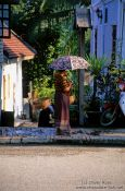 Travel photography:Street scene in Luang Prabang, Laos