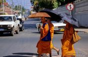 Travel photography:Buddhist monks in Vientiane, Laos