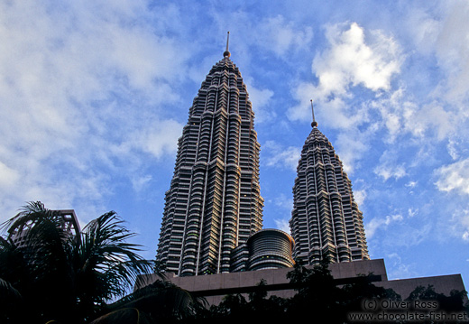 The KL towers were the world´s highest buildings.