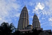 Travel photography:The KL towers were the world´s highest buildings., Malaysia