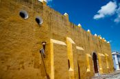 Travel photography:Convent in Campeche, Mexico