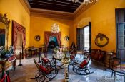 Travel photography:Colonial house in Campeche, Mexico