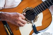 Travel photography:Boca del Rio musician with guitar, Mexico