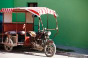 Travel photography:Celestun motorbike taxi, Mexico