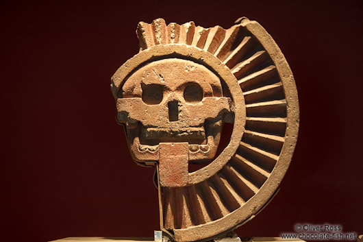 The disk of death (Disco de la Muerte) at the Mexico City Anthropological Museum