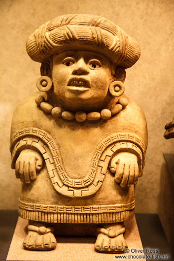 Sculpture at the Mexico City Anthropological Museum