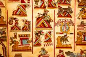 Travel photography:The Selden Codex (códice Selden) at the Mexico City Anthropological Museum, Mexico