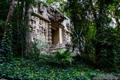 Travel photography:Mayan temple at the Mexico City Anthropological Museum, Mexico
