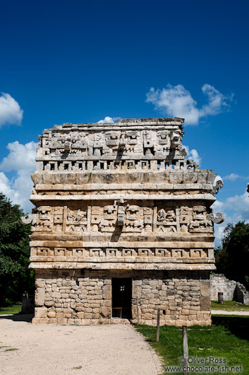 The church at the Chichen Itza archeological site