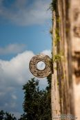 Travel photography:Pelota ring at the Chichen Itza archeological site, Mexico