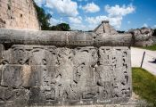 Travel photography:Chichen Itza archeological site, Mexico