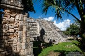 Travel photography:The Osario at the Chichen Itza archeological site, Mexico