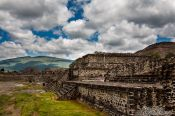 Travel photography:Teotihuacan archeological site, Mexico
