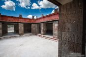 Travel photography:House at the Teotihuacan archeological site, Mexico
