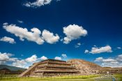 Travel photography:Temple of Quetzalcoatl at the Teotihuacan archeological site, Mexico