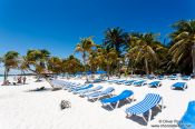 Travel photography:Resort hotels line the Riviera Maya of Quintana Roo, Mexico