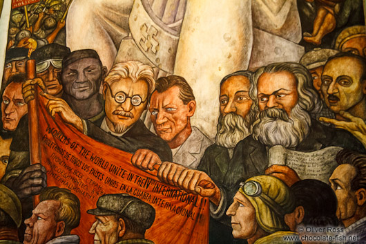 Mexico mexico city mural by diego rivera entitled el for Diego rivera mural new york rockefeller