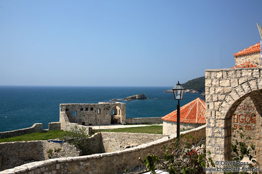 Inside Ulcinj fortress